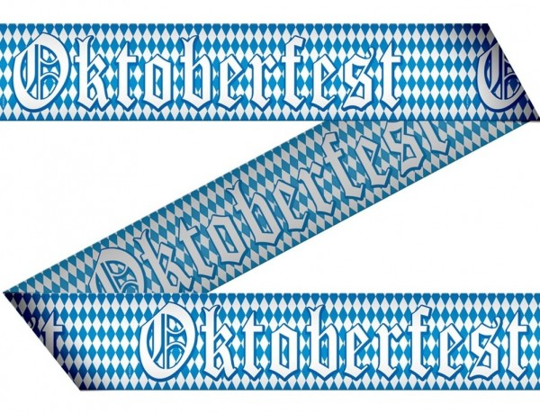 Oktoberfest fever barrier tape 15m