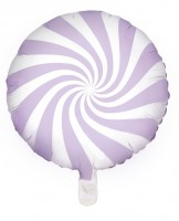Candy Party Folienballon lavendel 45cm