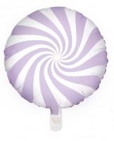 Candy Party Folienballon lavendel 45cm