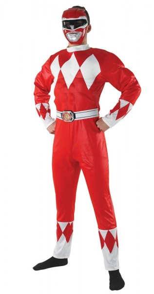 Red Ranger costume for men