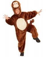 Plüschiges Affenkostüm Für Kinder