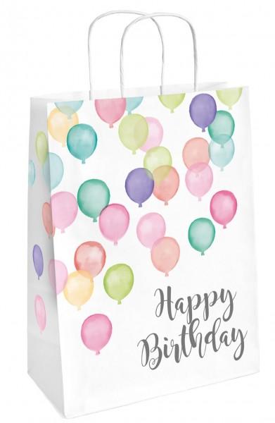 2 Pastell Geburtstag Geschenktüten