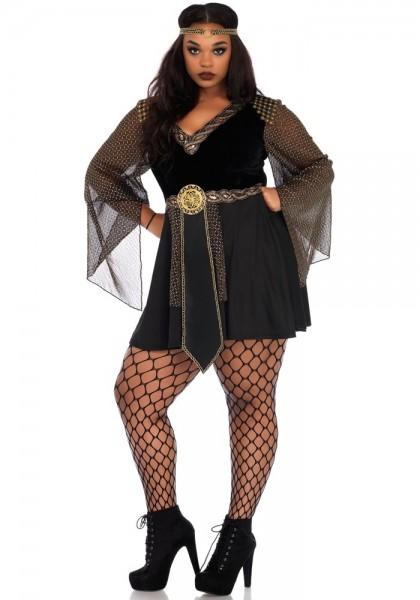 Düstere Kriegerlady Plus Size Kostüm Für Damen