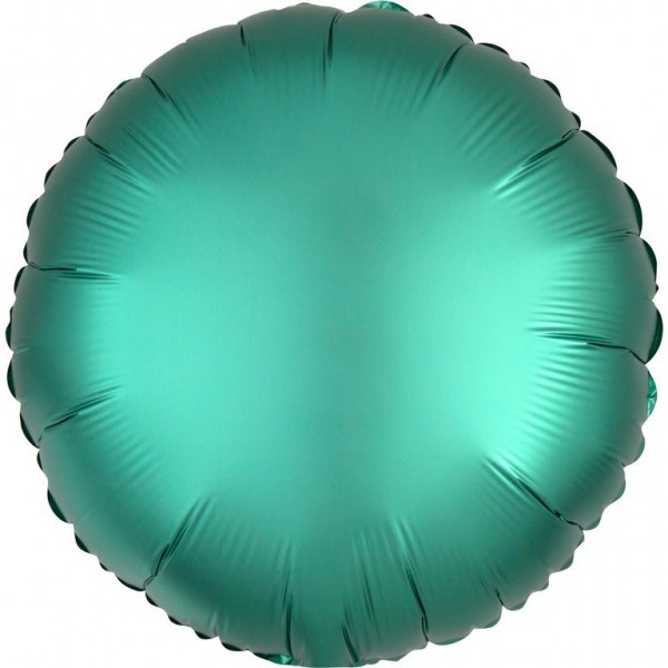 Shiny green foil balloon 43cm