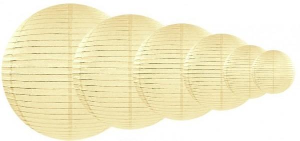 Lantern Lilly cream 25cm
