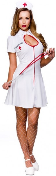 Adorable nurse Nicki costume