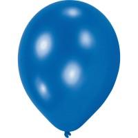 10 Blaue Ballons Partyflash 20,3 cm
