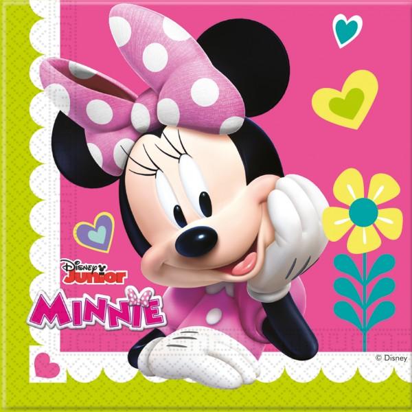 20 Minnie & Daisy Servietten 33cm