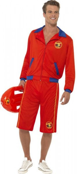 Bold lifeguard costume