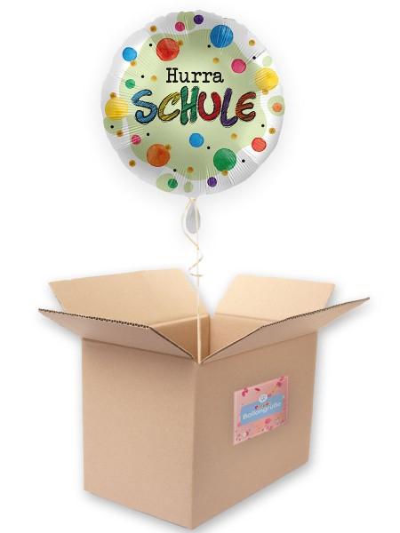 Hurra Schule Satin Folienballon 45cm