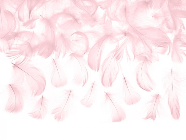 3g decorative feathers pink 5-8cm