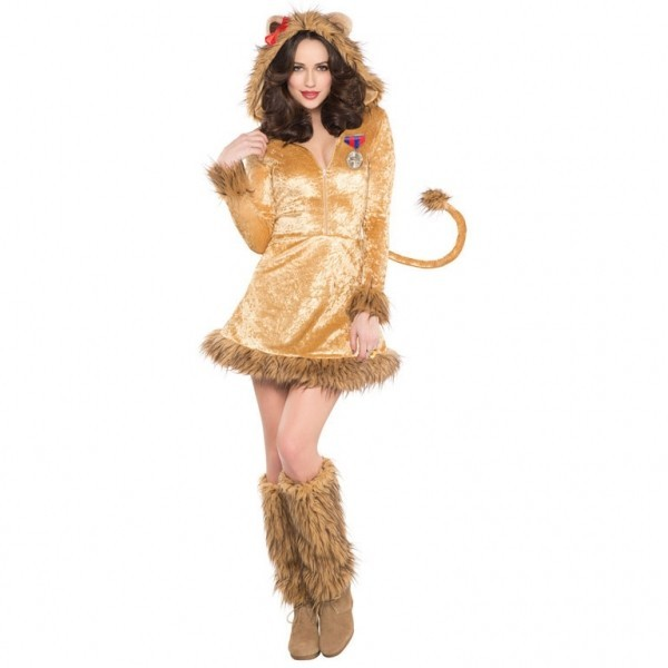 Plüsch Löwin Naly Kostüm