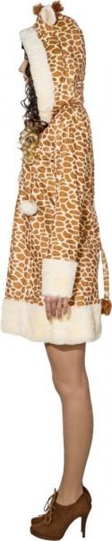 Costume de robe en peluche girafe
