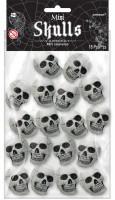 Mini Skulls Halloween-Deko 18-teilig