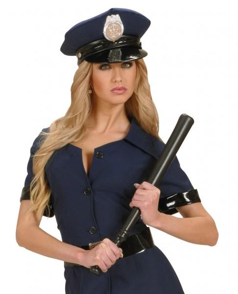 Polizei Schlagstock Schwarz 53cm