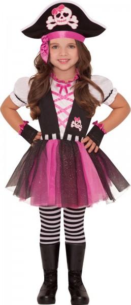 Freche Piratin Maggie Kostüm für Mädchen