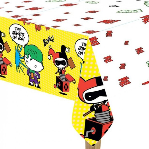 Batman & Joker Comic Tischdecke 1,8 x 1,2m