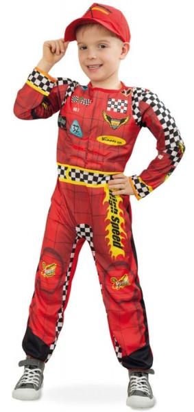 Rennfahrer Rudi Kinderkostüm
