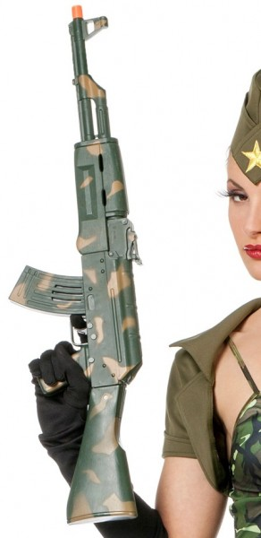 Military Maschinengewehr Camouflage
