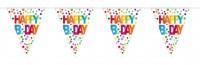 Splendid Birthday Wimpelkette 10m