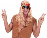 Vorschau: Hippie Peace Zeichen Halskette
