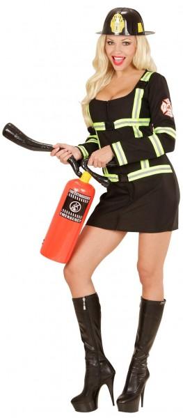 Sexy brandweerman vrouw kostuum