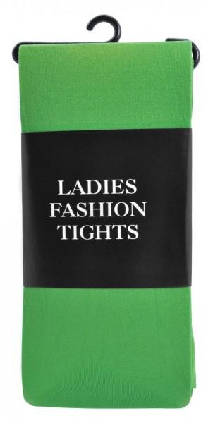 Medias opacas verde para mujer