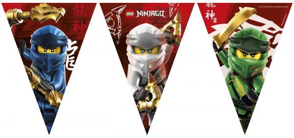 Chaîne de fanions Lego Ninjago 2,3 m