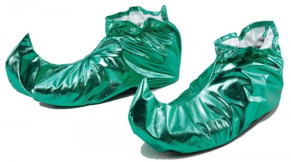 Chaussures elfiques vertes