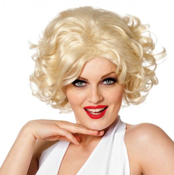 Blonde 50er Jahre Ikone Damenperücke