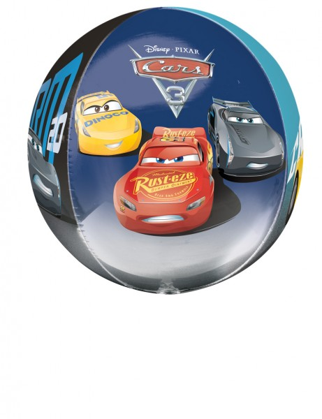 Kugelballon Cooles Cars Trio