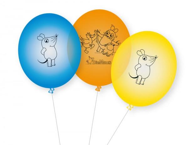 8 Sendung mit der Maus Latexballons