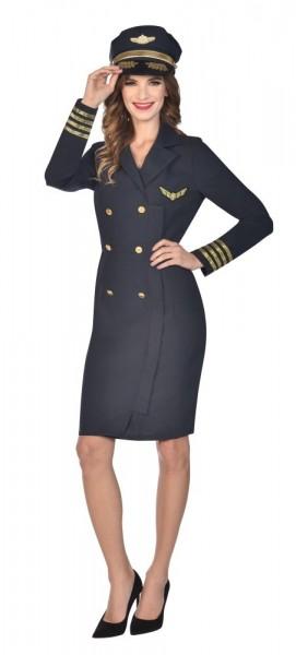 Captain Jane Navy Damenkostüm