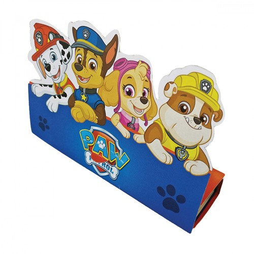 8 cartes d'invitation Paw Patrol Action