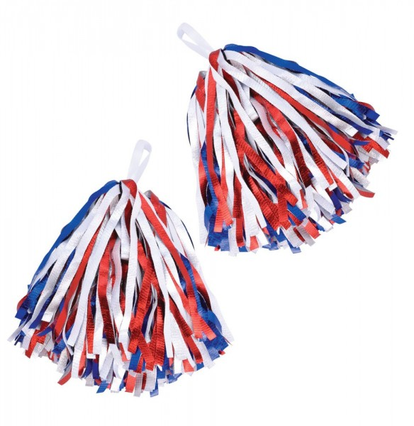 2 Cheer Star Pompons