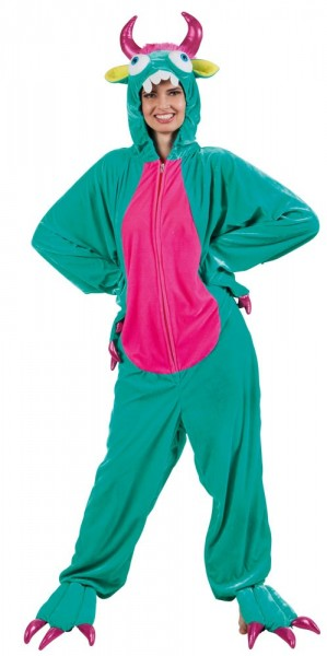 Funny dino plush costume