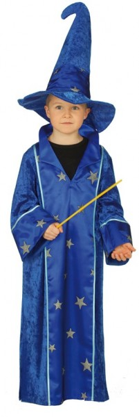 2-piece Merlin magician costume for children