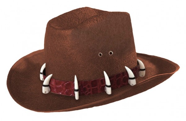 Cowboy Wildtier Jäger Hut