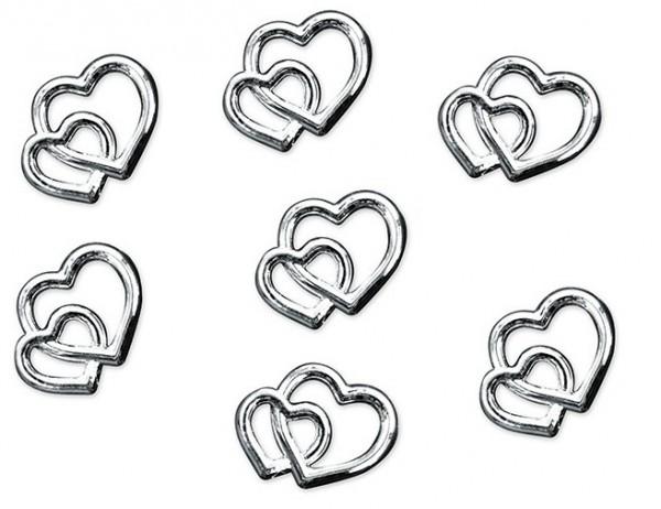 25 Srebro małżeńskie rozproszone serca