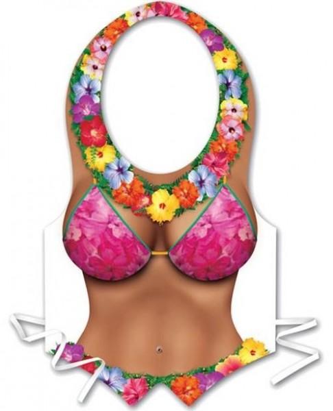 Chaleco de plástico sexy hula girl