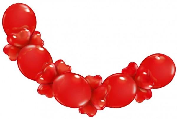 Ballon Girlande Love 2,1m