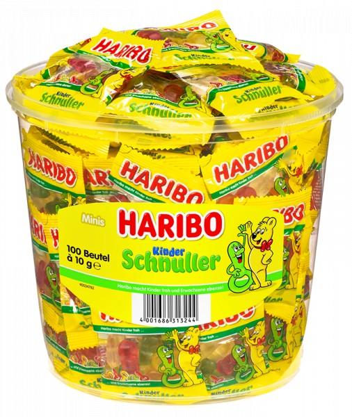 100 Beutel Haribo Kinder Schnuller 10g