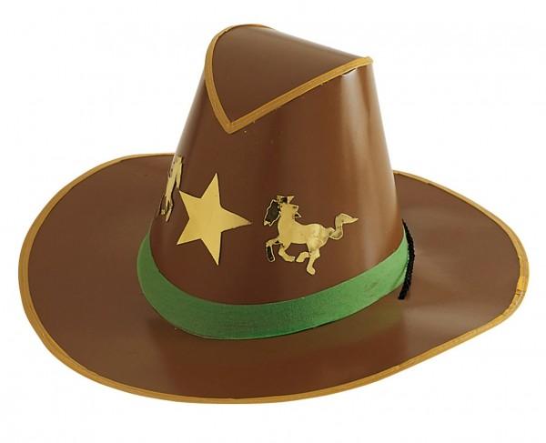 Cowboy Hut Aus Pappe Dave