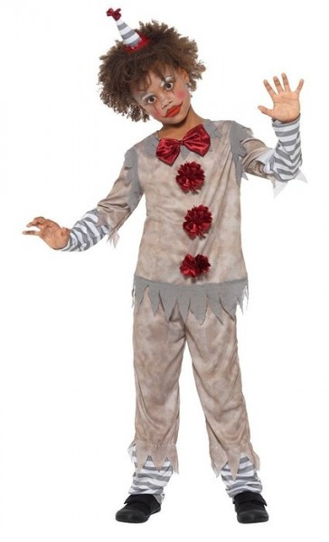 Vintage clown kostuum voor kinderen