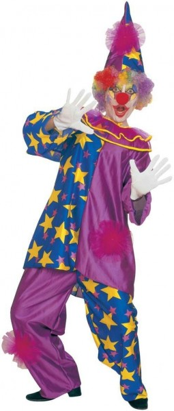 Mysteriöses Clowns Damenkostüm