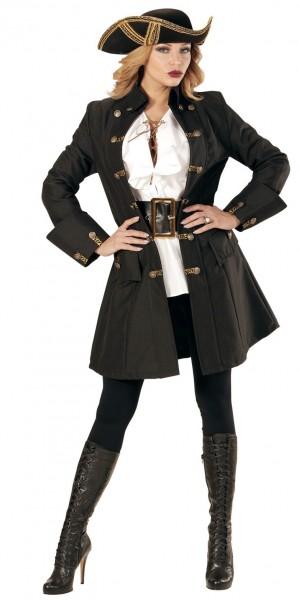 Abrigo pirata ladrón para mujer