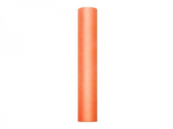Tüll Stoff Luna orange 9m x 30cm