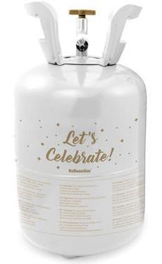 Lets Celebrate Heliumflasche mit Ballons 8