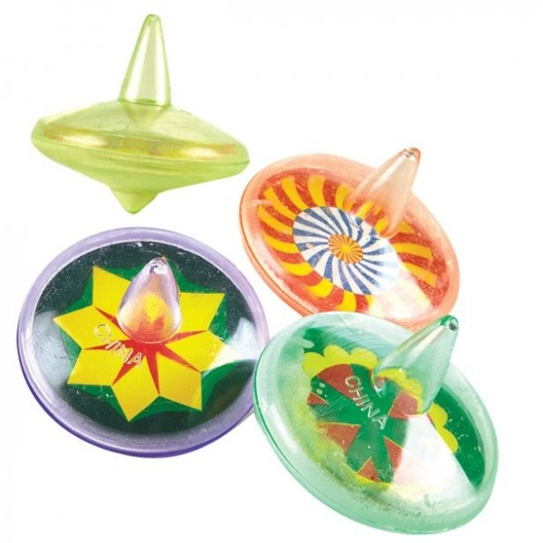 4 funny giveaways spinning top