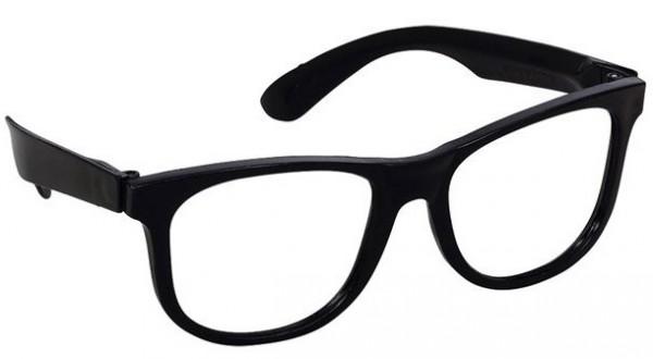 10 Schwarze 50er Jahre Brillen Roy